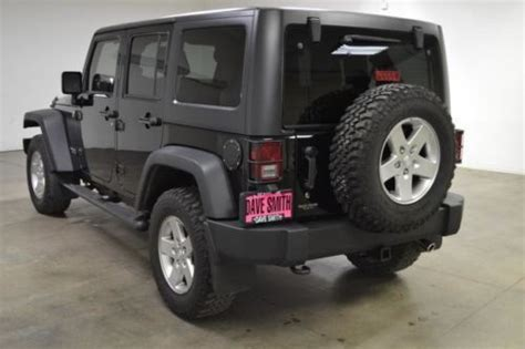 rubicon leather seats buy used 11 jeep wrangler unlimited rubicon 4x4 leather