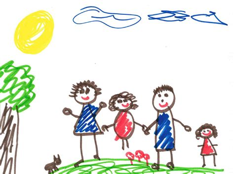 drawing images for kids kid family drawing