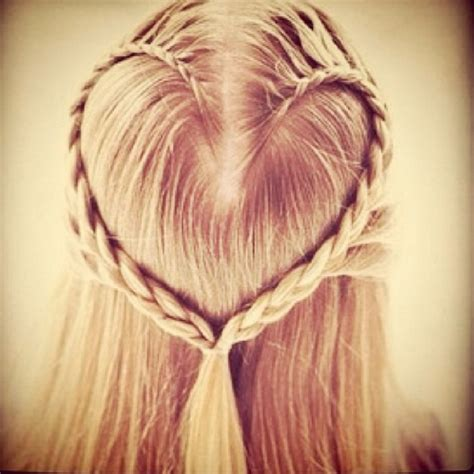 Plaiting Hair To Grow It | blonde hair plait hair styles pinterest awesome