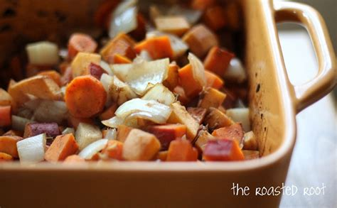 how to roast root vegetables balsamic roasted root vegetables