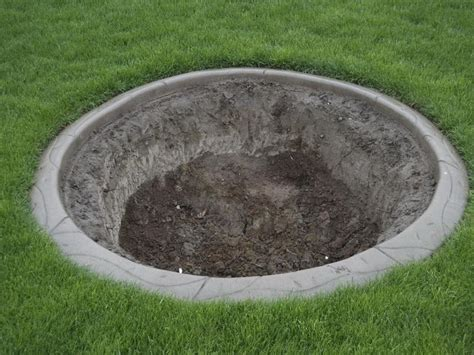 In Ground Firepit Outdoor In Ground Pit Design Ideas Paver Pit Diy Pit Pits At Lowes Or