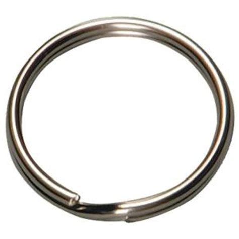 hy ko 1 in split ring key rings 2 pack kc105 the home