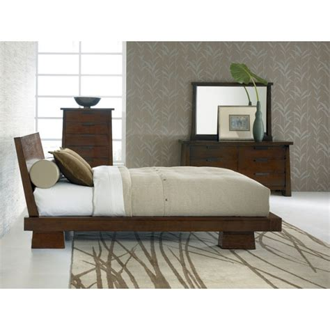 Hida Bed Passion Decor Asian Inspired Bedroom Furniture
