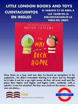 libro the way back home feria del libro infantil juvenil de granada 2016 minigranada