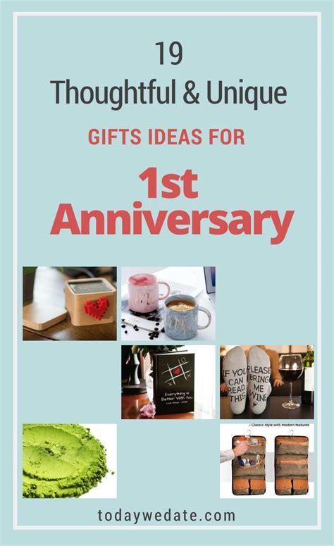 unusual st anniversary gifts  husband anniversary