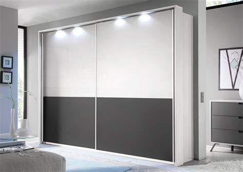 armadio grigio armadio a 2 ante scorrevoli bianco e grigio opaco