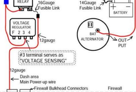 chevy external voltage regulator diagram wedocable