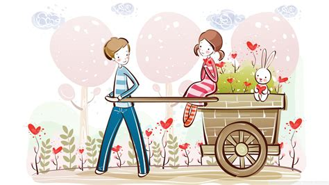 wallpaper valentine couple download cute valentine couple valentines day illustration