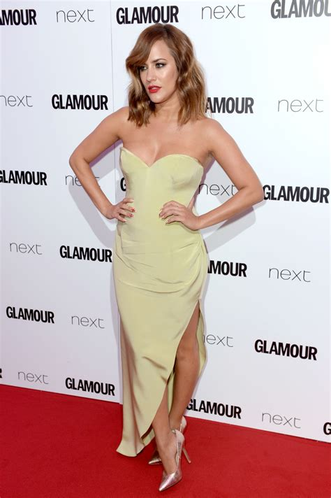 Glamours Of The Year Awards by Caroline Flack At Of The Year Awards 2016 In