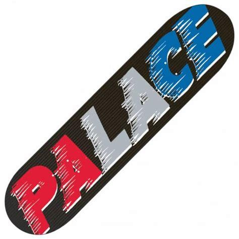 palace deck palace skateboards palace fast black team skateboard deck