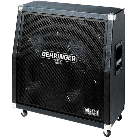 Behringer 4x12 Guitar Cabinet Behringer Ultrastack Bg412h 4x12 Quot Angled Guitar Speaker