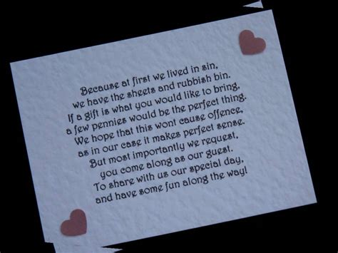 wedding poems for money instead of gifts poems for money instead of wedding gifts