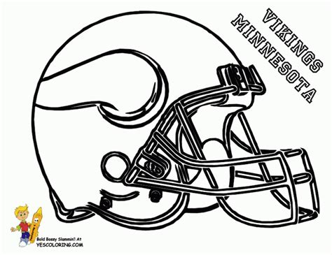 get this free printable football helmet nfl coloring pages