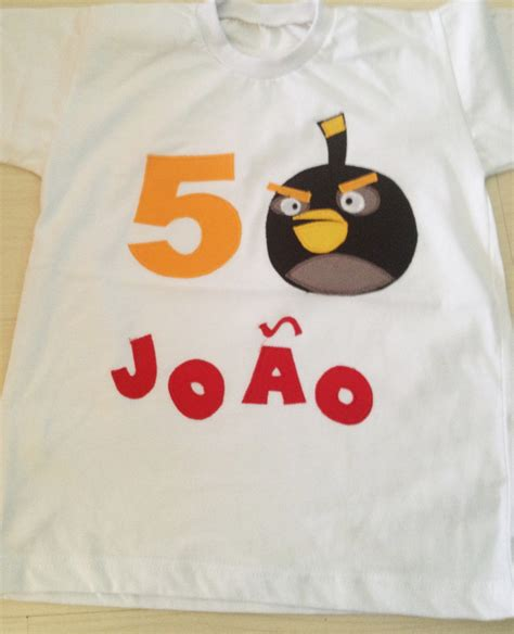 Haver Non Kupas By A D Bird ou camiseta angry birds no elo7 lepetitpola 2d5e2a