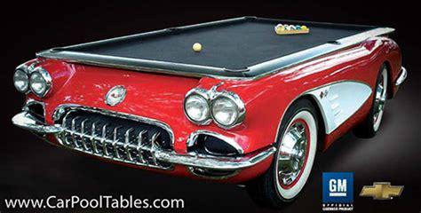 1969 camaro collectors edition pool table chevymall corvette 1959 collectors edition pool table