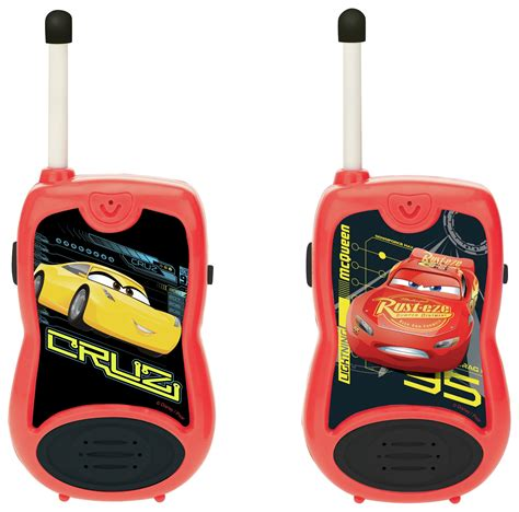 Walkie Talkie Cars Sale lexibook disney cars 3 walkie talkies