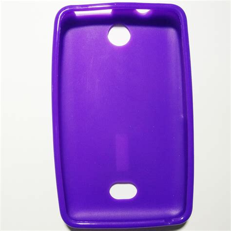 Back Door Nokia 501 nokia asha 501 purple colour phone silicone back cover 11street malaysia cases and
