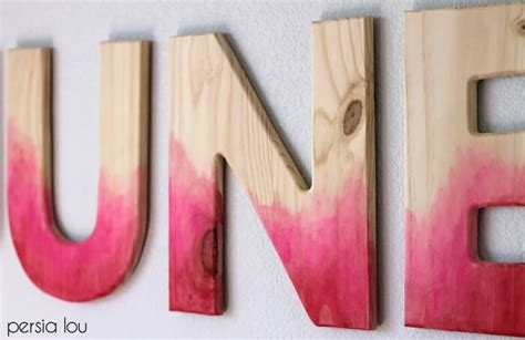watercolor wood tutorial diy watercolor wood letters tutorial persia lou