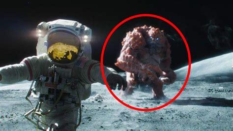 imagenes raras captadas por la nasa 5 cosas misteriosas en la luna captadas en camara por la