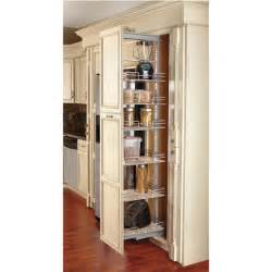 Kitchen Pull Out Cabinet Rev A Shelf Pull Out Pantry With Maple Shelves For Tall