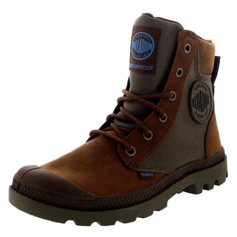 palladium hiking boots unisex adults palladium pa sport cuff hiking walking