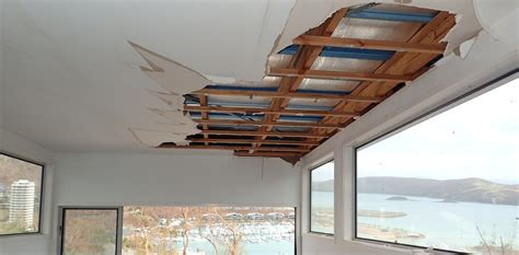 Building Ceiling by Building Codes Not Enough To Protect Homes Against Water Damage In Severe Storms
