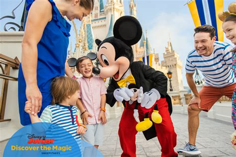 Disney Junior Magical First Sweepstakes - disneykids enter to win a magical vacation to walt