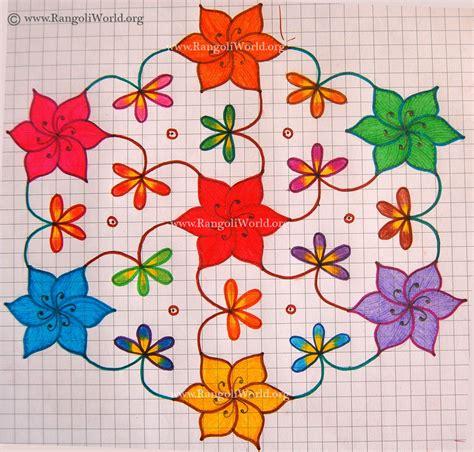 new design flower kolam with dots flower kolam with dots new calendar template site