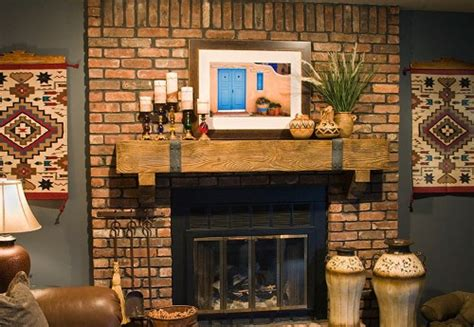 how to decorate a brick fireplace mantel 5 ways for