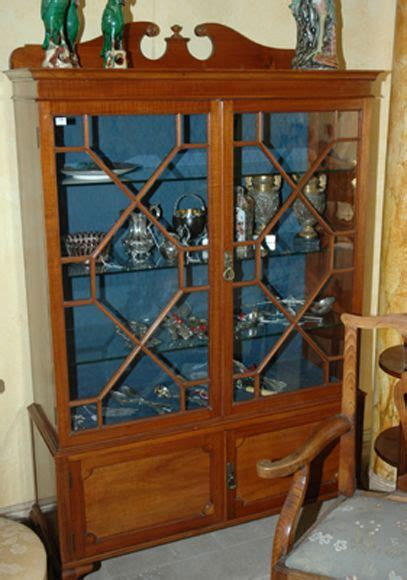 Blackwood Display Cabinet An Edwardian Blackwood Display Cabinet Sted Church
