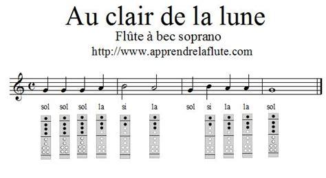 0043061060 la flute de a a au clair de la lune 224 la fl 251 te 224 bec apprendre la fl 251 te