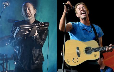 coldplay radiohead radiohead and coldplay to headline new t in the park