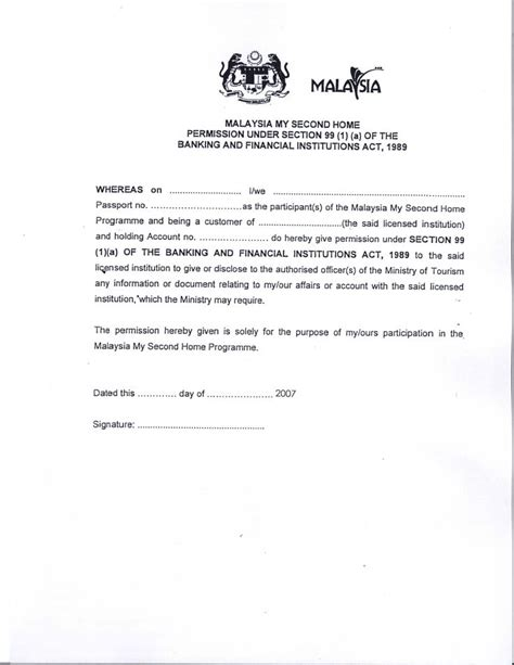 Release Letter From Bank Malaysia Malaysia Visa Application Letter Writing A Re Papervisa Request Letter Application Letter Sle