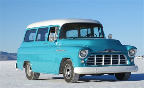 1957 Chevy Suburban By 1957 chevrolet suburban information and photos momentcar