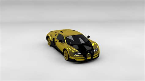 gold bugatti wallpaper gold bugatti veyron on a gray background wallpapers and