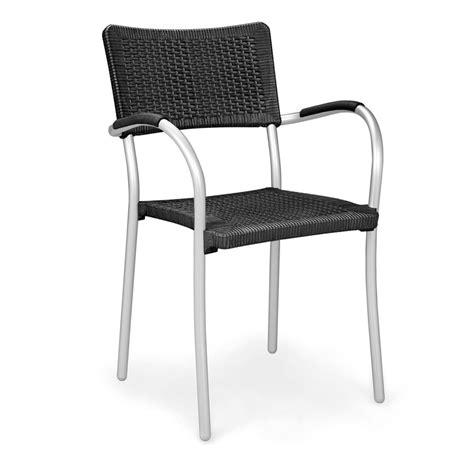 sedie rattan sedia in rattan sintetico ed alluminio artica wicker nardi