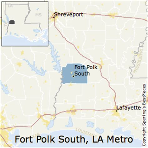 fort polk louisiana map best places to live in fort polk south metro area louisiana