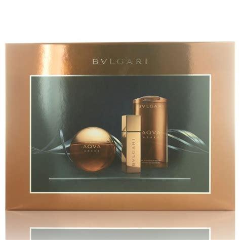 Parfum Bvlgari Aqva Amara Original Singapore 2 aqva amara by bvlgari 3 gift set 3 4 oz eau de toilette spray new ebay