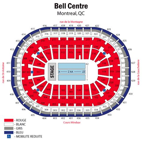 bell center seating chart sade june 30 tickets montreal bell centre sade tickets