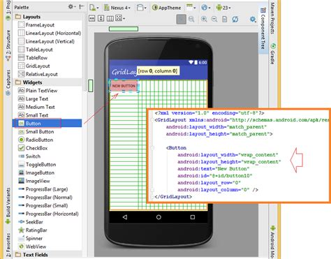 android studio grid layout tutorial android ui layouts tutorial