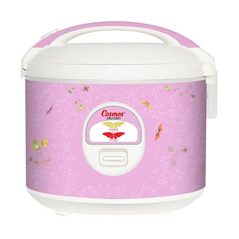 Rice Cooker Cosmos 1 Liter jual cosmos crj 3301 non stick rice cooker 1 8l