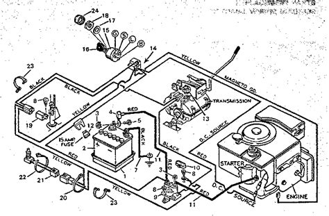 yard machine lawn mower wiring diagram yard free engine