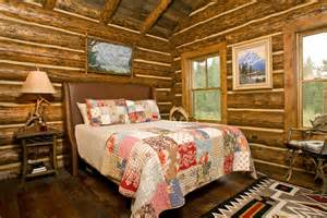 Log Cabin Bedroom Decorating Ideas Log Cabin Interior Design In Jackson Hole Teton Heritage