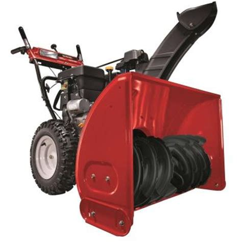 yard machines 30 in 357 cc two stage electric start gas