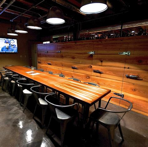 the barrel room in fidi offers a rotating menu happy hour eugene s tap and growler to host monthly wine events the