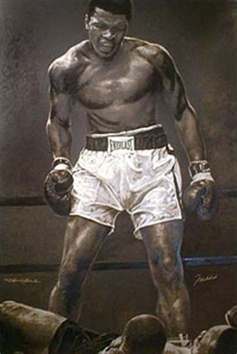 muhammad ali painting 59 00 quot ali the greatest quot featuring muhammad ali by stephen holland