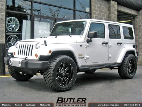 Jeeps On Gas Jeep Wrangler With 20in Fuel Maverick Wheels Exclusively