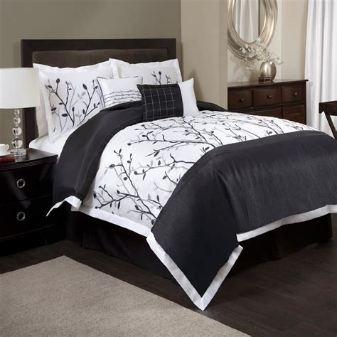 comforter set black and white most beautiful black and white bedding sets the comfortables