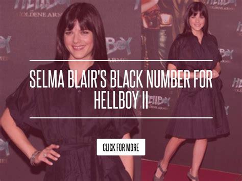 Selma Blairs Black Number For Hellboy Ii by Selma Blair S Black Number For Hellboy Ii