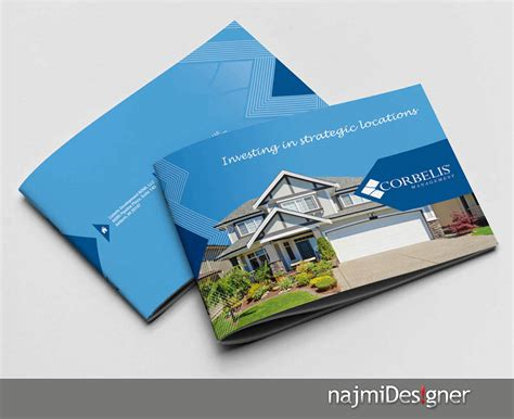 corporate brochure needed for real estate developer